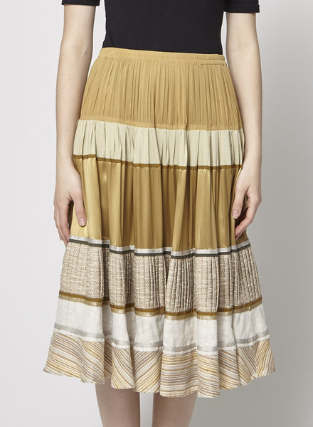 Ports 1961 BEIGE SKIRT WITH LAYERS