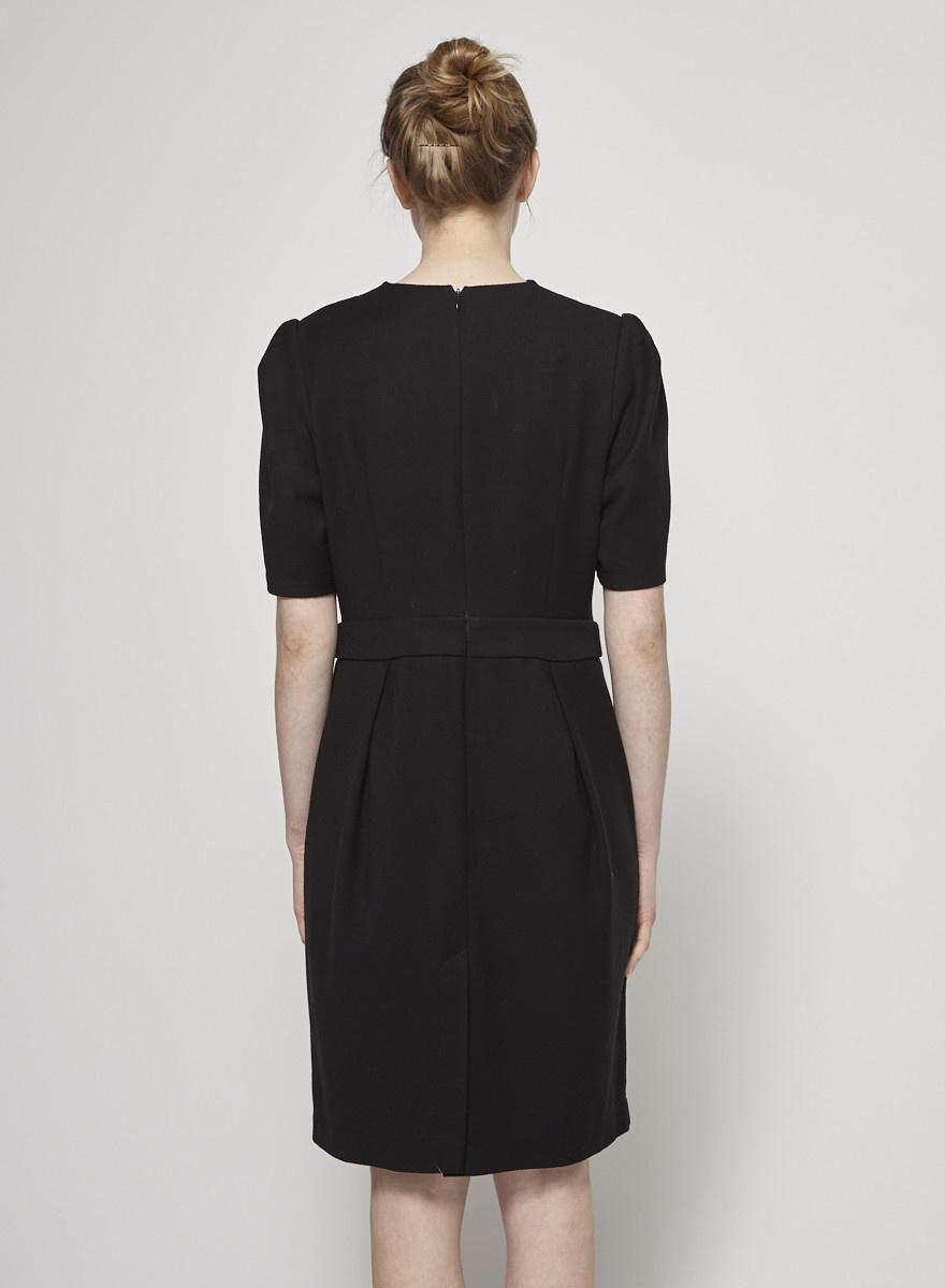 1cbfc65ca9c Robe noire cintrée à col bénitier - Bodybag by Jude - Deuxième édition