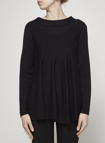 COS LOOSE BLACK WOOL SWEATER