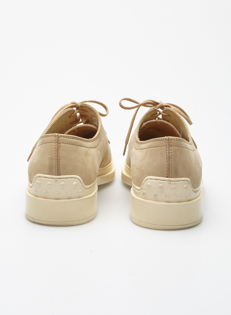 TOD'S Beige Leather Shoes