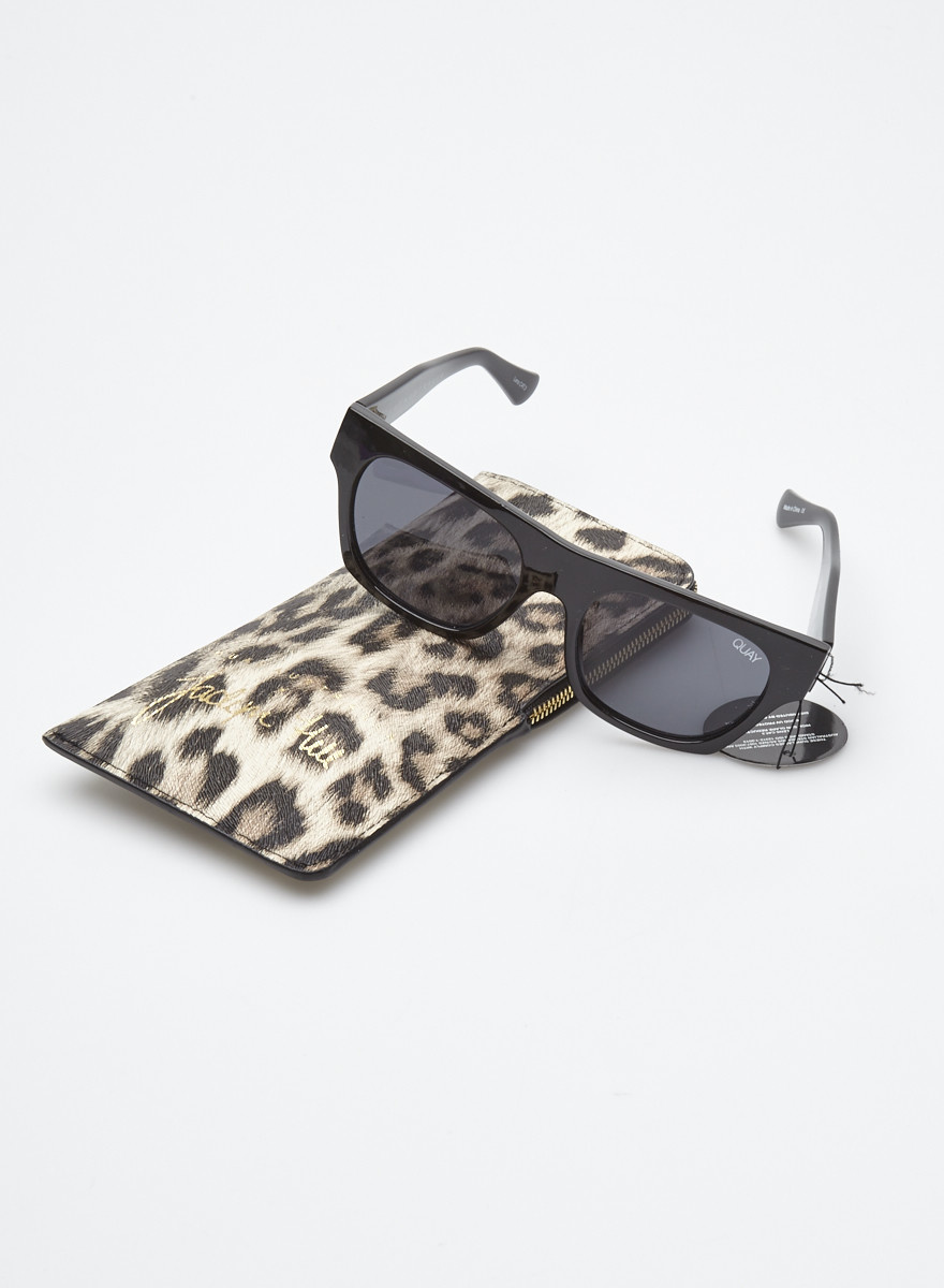 Quay Australia Something Extra Black Sunglasses