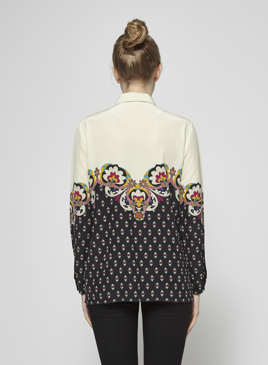 ETRO Paisley-Print Silk Shirt