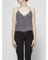 Rails LEOPARD PRINT CROP TOP - NEW