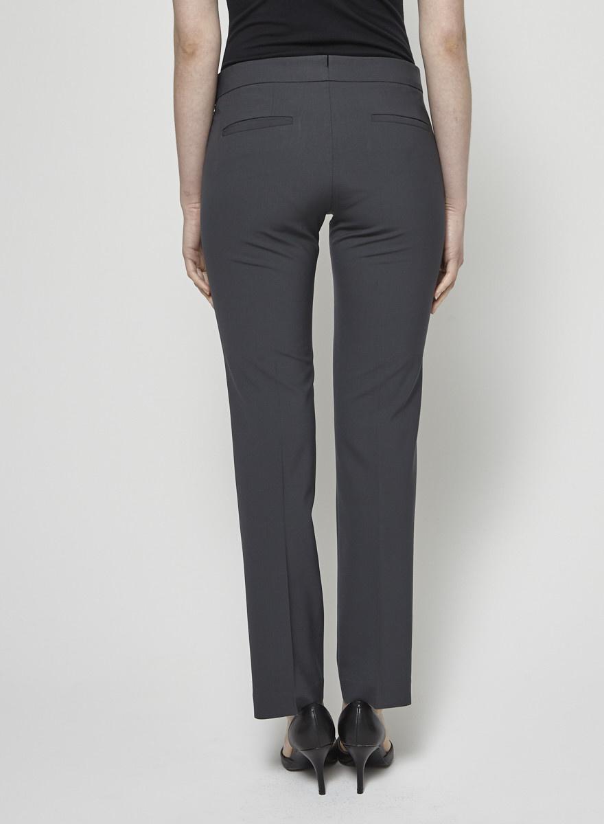 Theory Dark Gray Classic Trousers