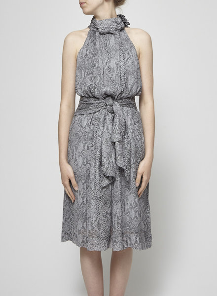 By Malene Birger SNAKE PRINT SILK DRESS