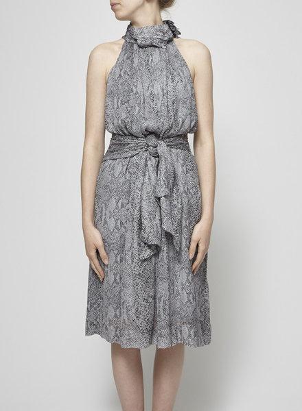 By Malene Birger SNAKE PRINT SILK DRESS