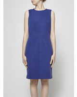 Judith & Charles COBALT BLUE COTTON DRESS