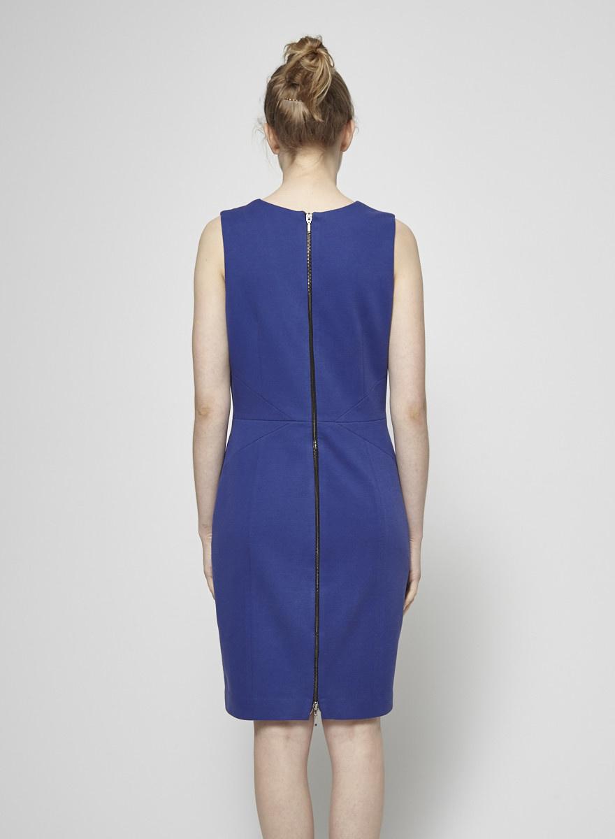 Judith & Charles Cobalt Blue Cotton Dress