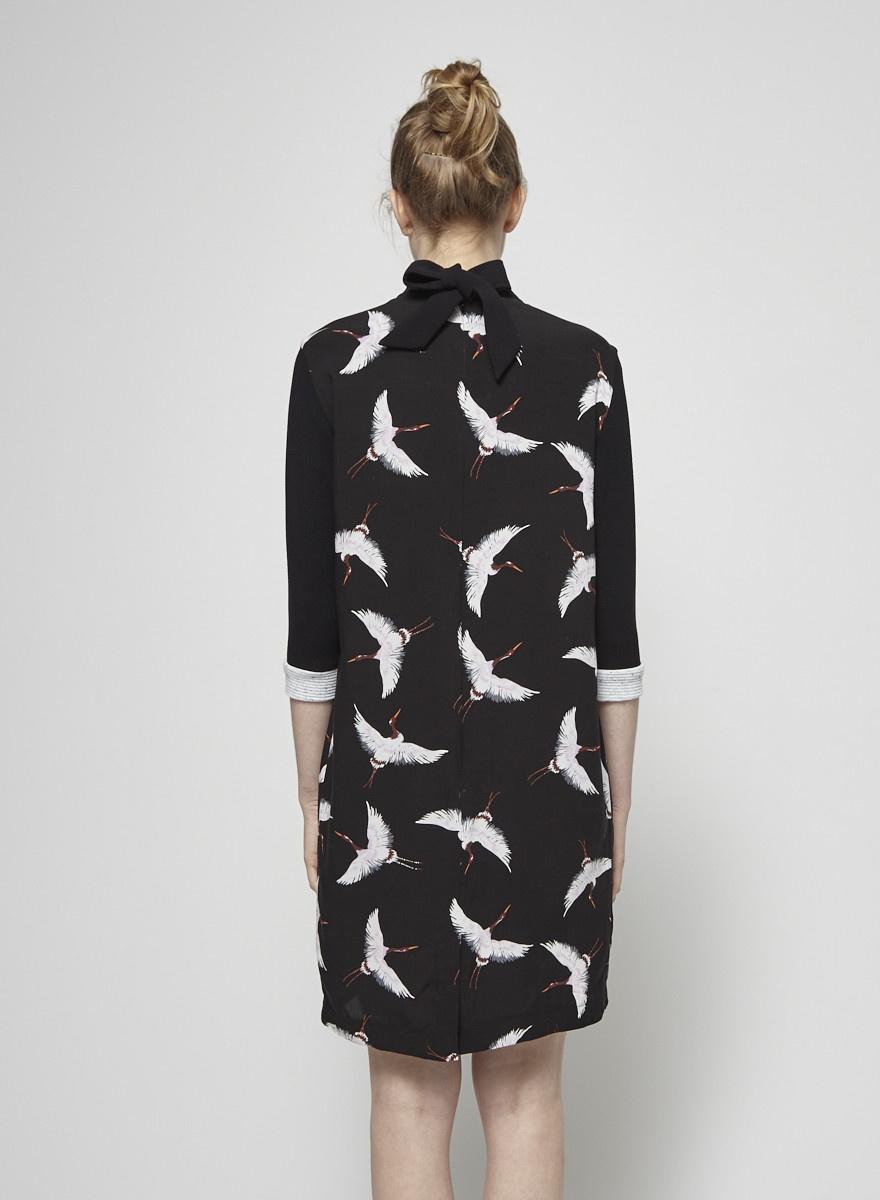Cokluch Alexandra Heron Printed Dress