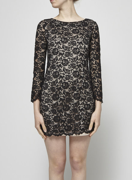 Imperial ON SALE- BLACK LACE DRESS