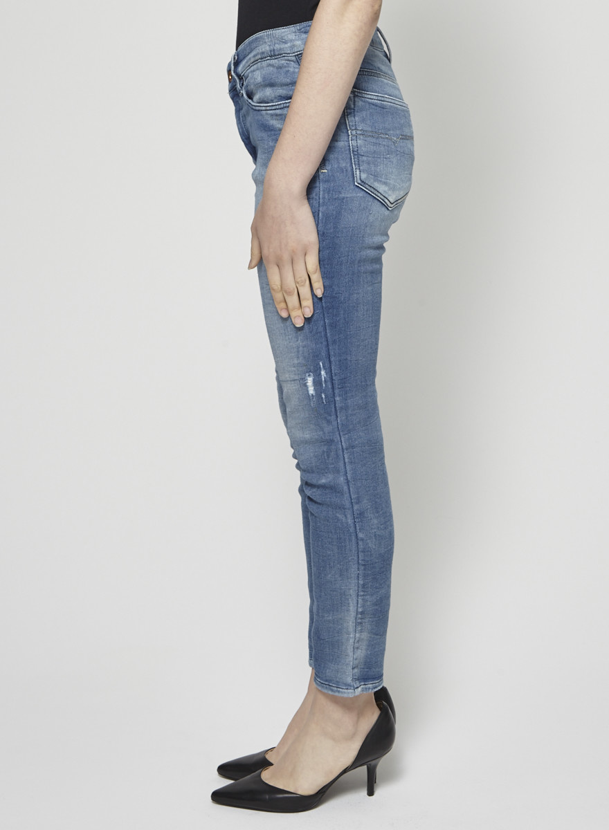 Diesel Stretch Faded Jeans