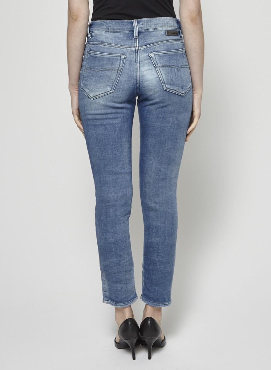 Diesel Jeans stretch délavé