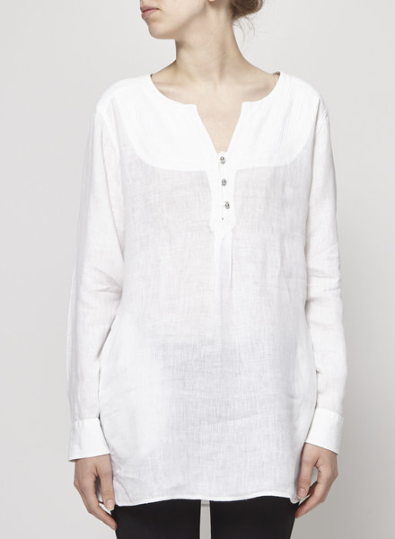 Weekend Max Mara TUNIQUE BLANCHE EN LIN