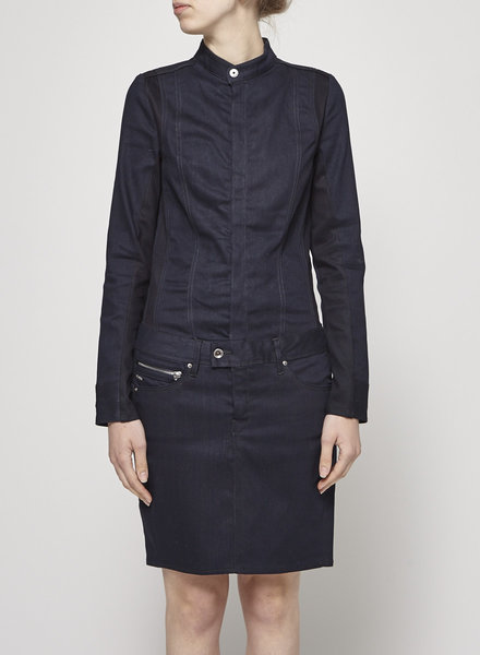G-Star LONG SLEEVE DENIM DRESS - NEW WITH TAGS