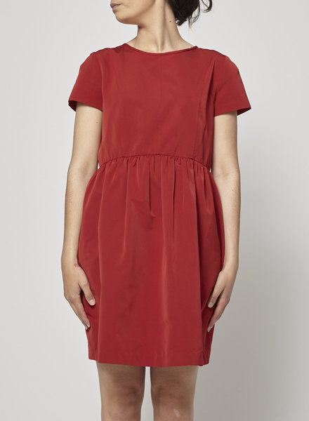 'S Max Mara RED SHORT SLEEVE DRESS