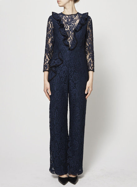 Alexis BLUE LACE JUMPSUIT