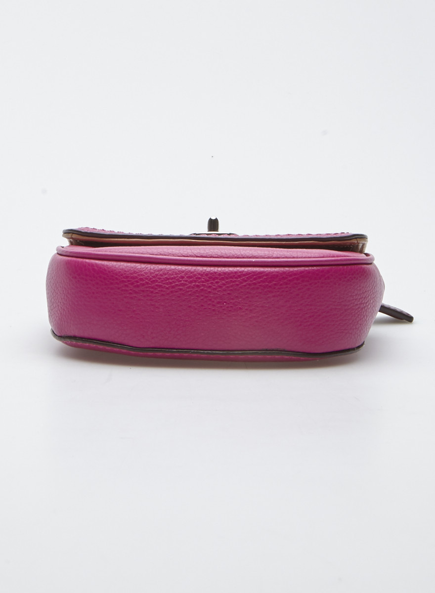 Coach Mini Fuchsia Handbag