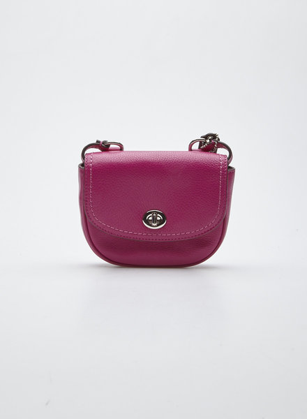 Coach MINI SAC À MAIN FUCHSIA