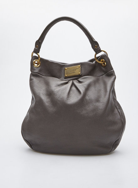 Marc by Marc Jacobs GRAY LEATHER HANDBAG