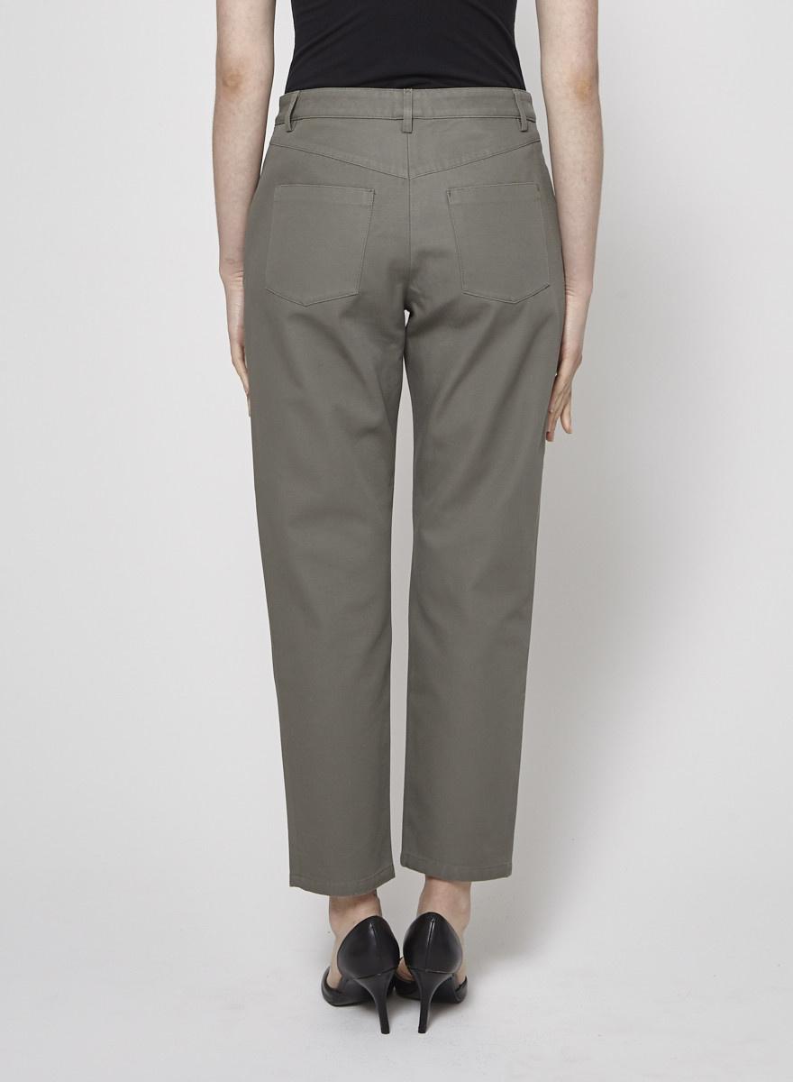 A.P.C. NEW PRICE (WAS $119) - CROPPED KHAKI PANTS