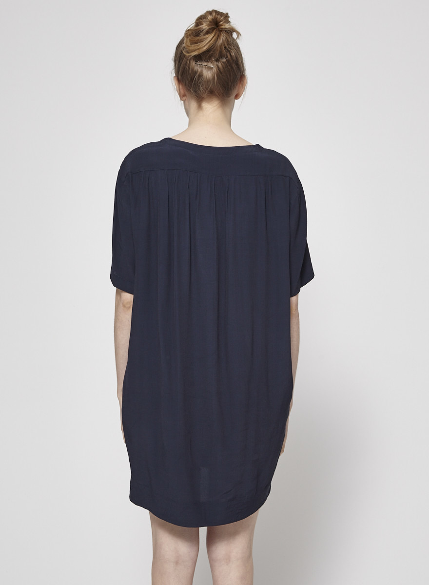 naïf Navy Tunic with Buttons