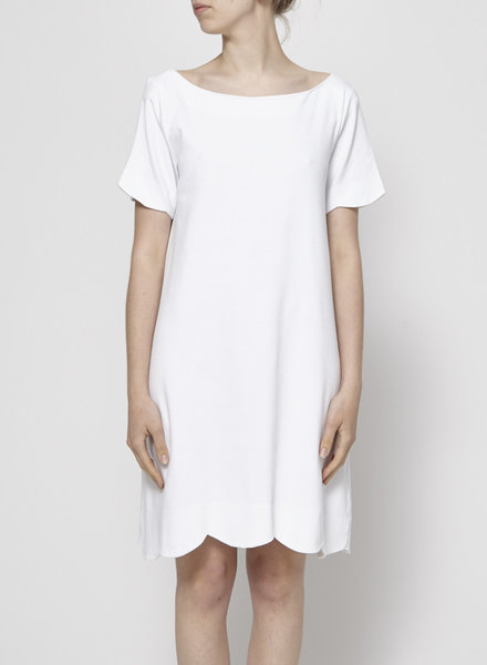 COS WHITE CASUAL DRESS
