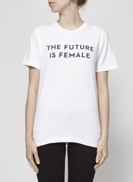 "Otherwild T-SHIRT BLANC ""THE FUTURE IS FEMALE"""