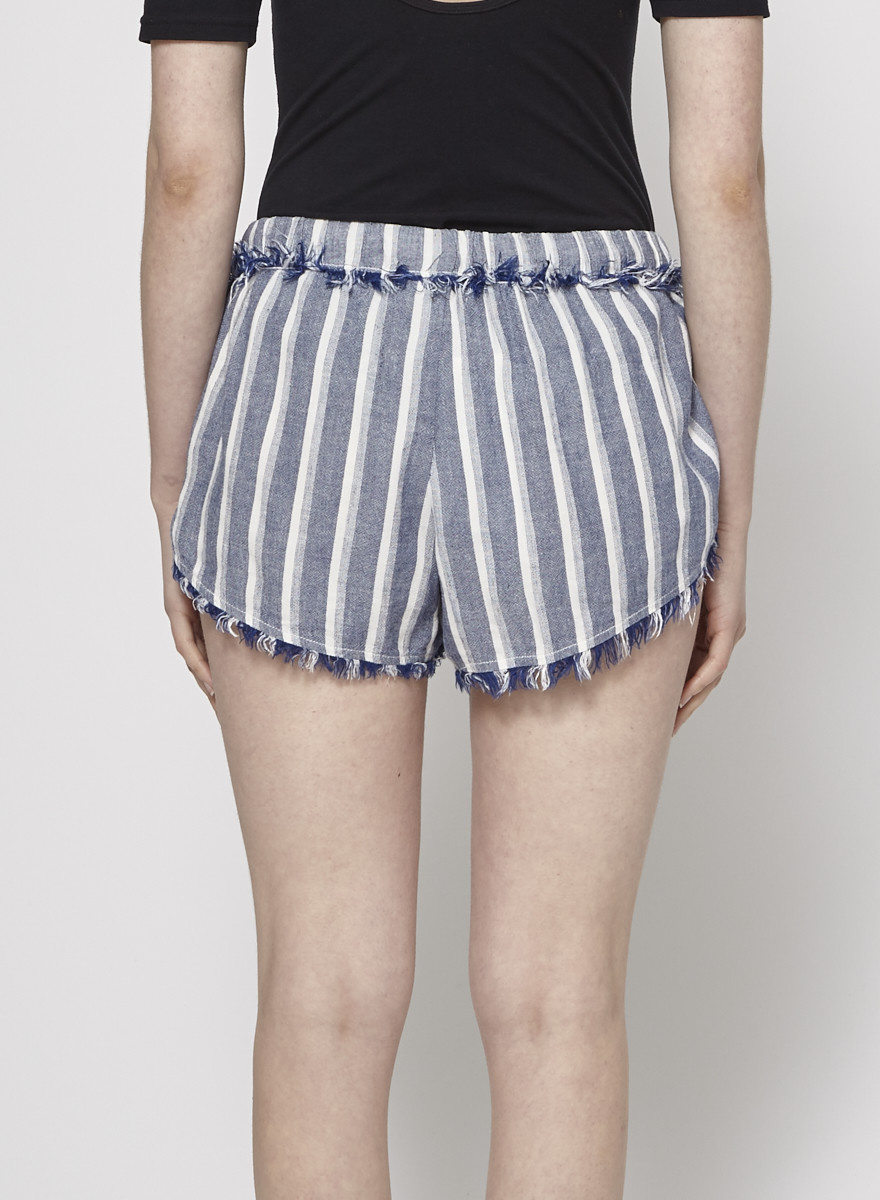 Bella Dahl Striped Chambray Short