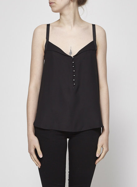 Equipment BLACK TOP WITH SMALL BUTTONS