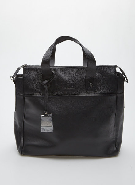 Rudsak BLACK LEATHER TOTE