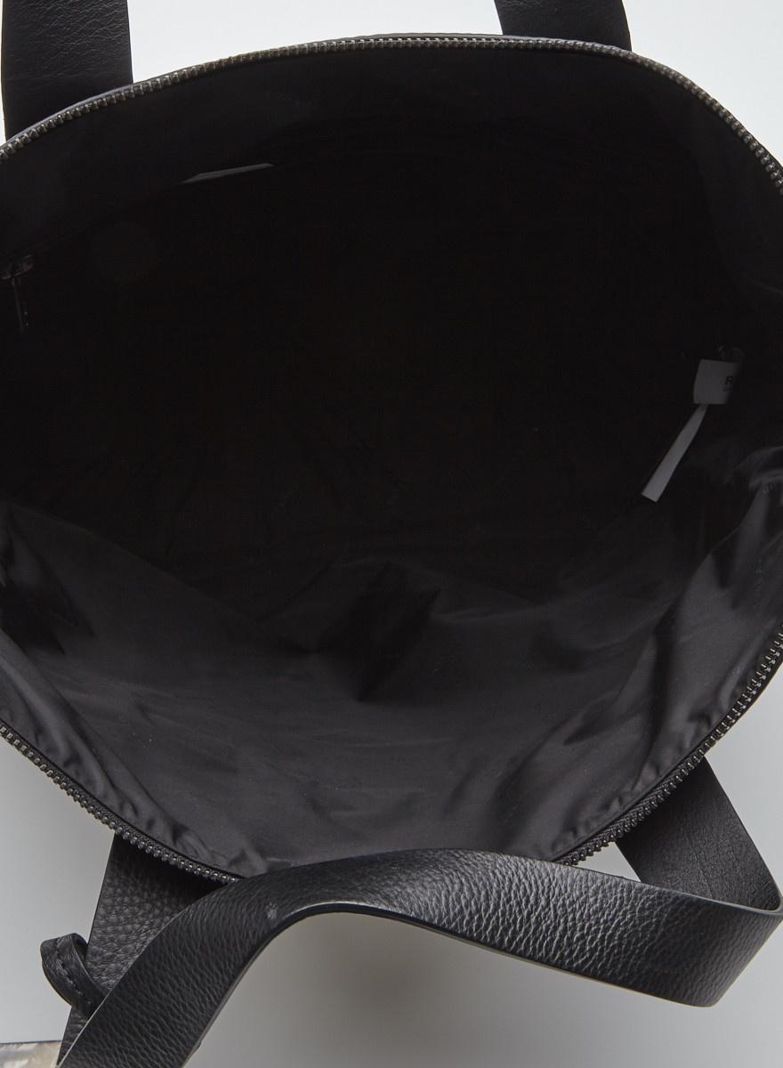 Rudsak Black Leather Tote