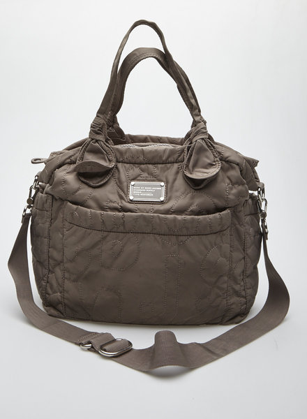 Marc by Marc Jacobs TAUPE QUILTED DIAPER BAG