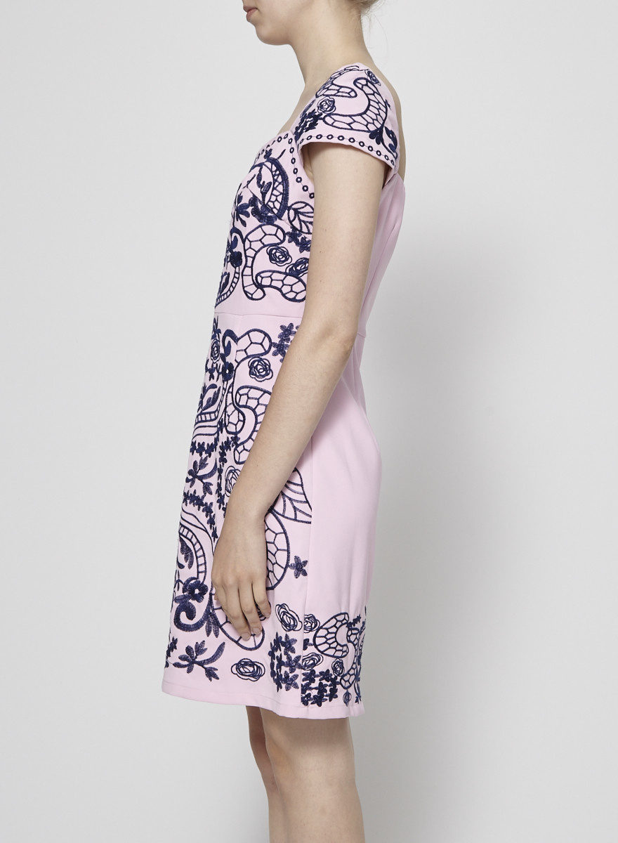foxiedox JEANA EMBROIDERED DRESS - NEW WITH TAG