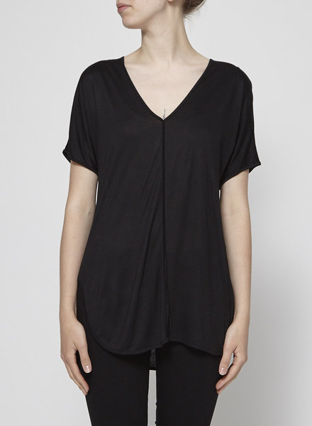 T by Alexander Wang BLACK T-SHIRT