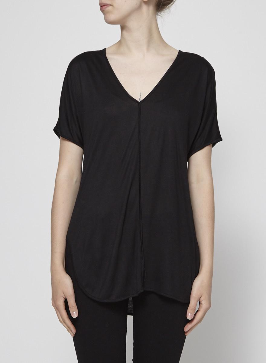 T by Alexander Wang Black T-Shirt