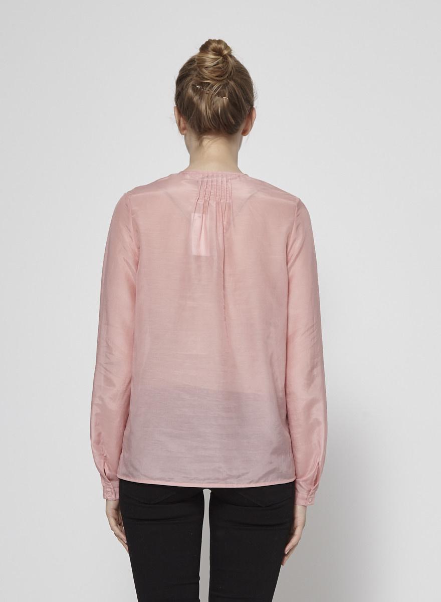 J Brand Sheer Pink Shirt - New