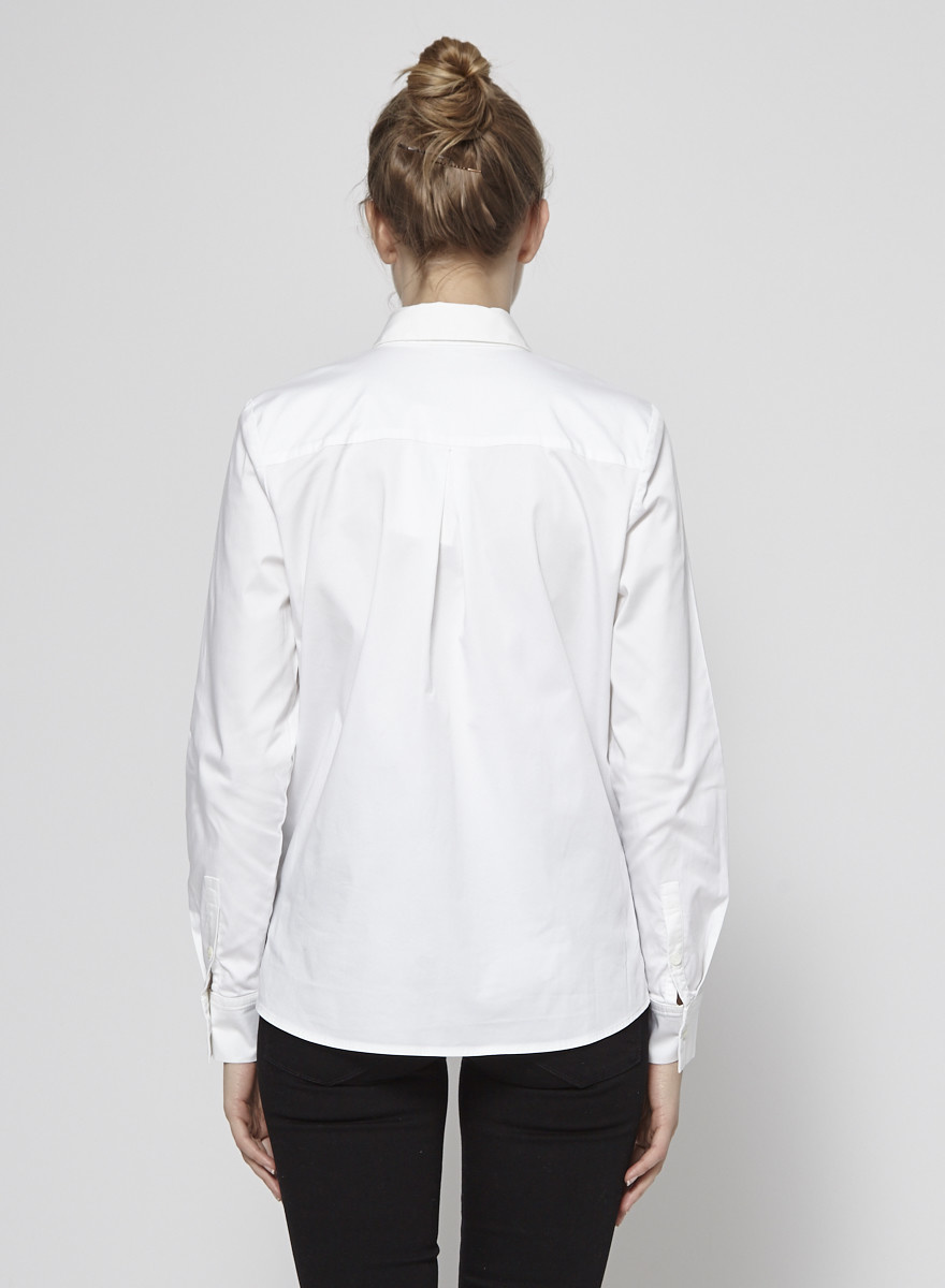 Judith & Charles Long Sleeves White Shirt