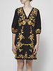 foxiedox BLACK DRESS WITH GOLD EMBROIDERIES - NEW WITH TAG (S & XL in stock)