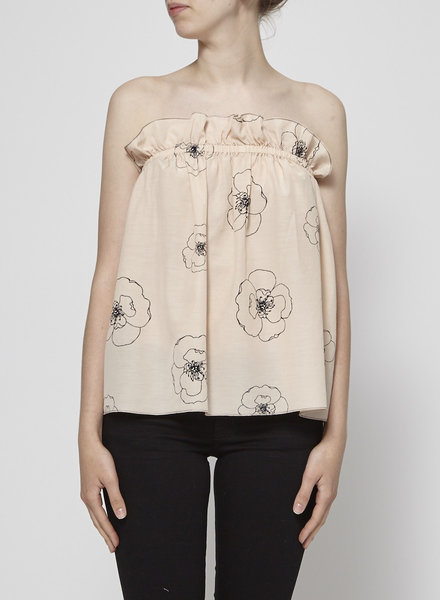Sam & Lavi PEACH BARE SHOULDERS TOP - NEW