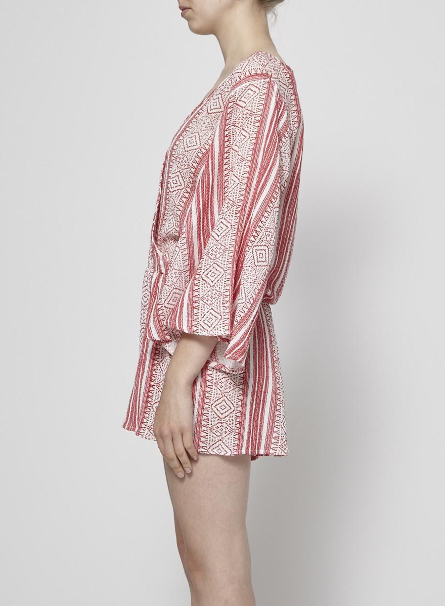 Elan Combi-short rouge et blanc - Neuf