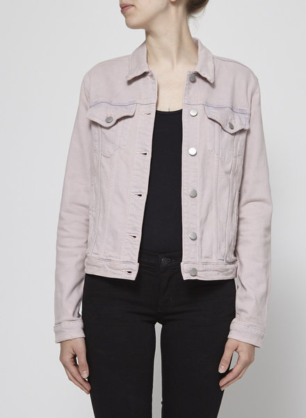 J Brand PINK DENIM JACKET - NEW
