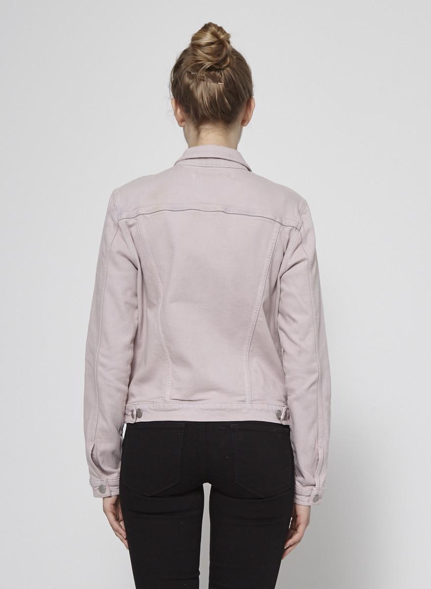J Brand Pink Denim Jacket - New