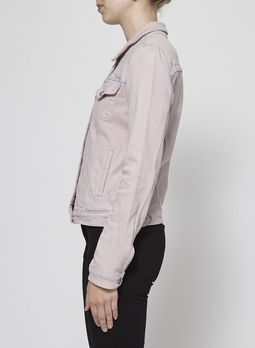 J Brand On Sale - Pink Denim Jacket - New