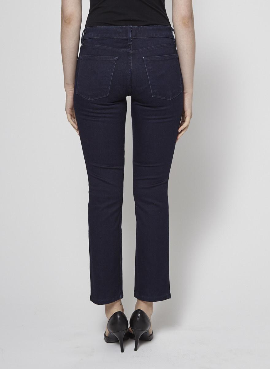 Rich & Skinny Jeans bleu foncé