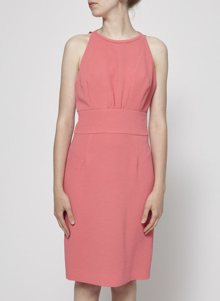 Armani Jeans CORAL DRESS WITH BARE BACK