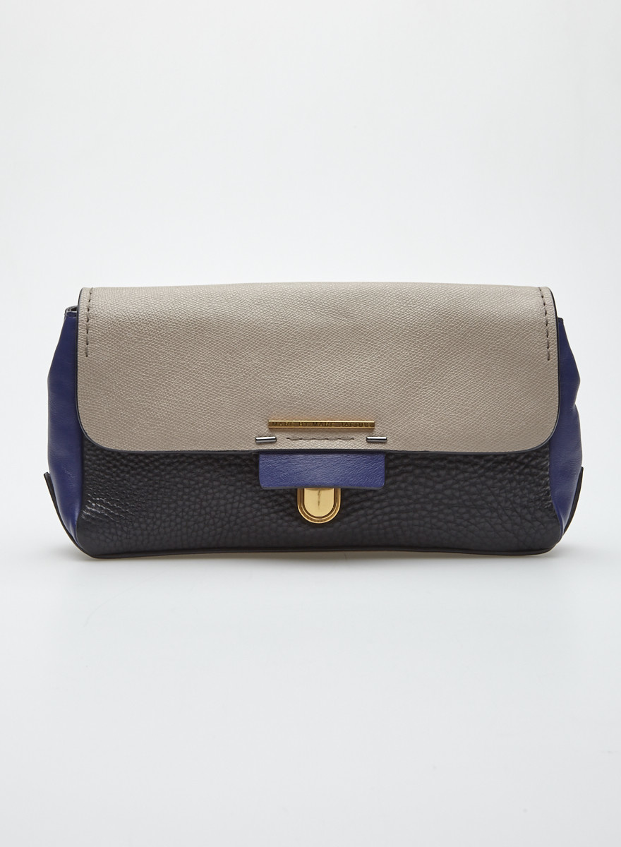 Marc by Marc Jacobs Tricolor Leather Clutch