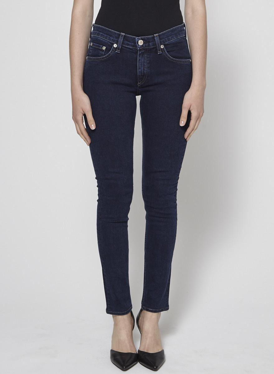 Rag & Bone Dark Blue Skinny Jeans