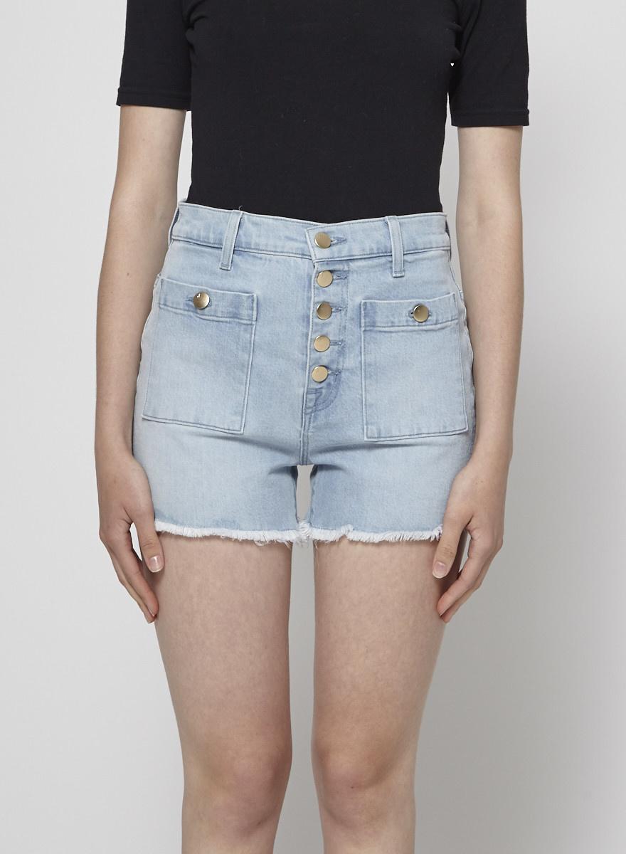 J Brand Joan High-Rise Pocket Short