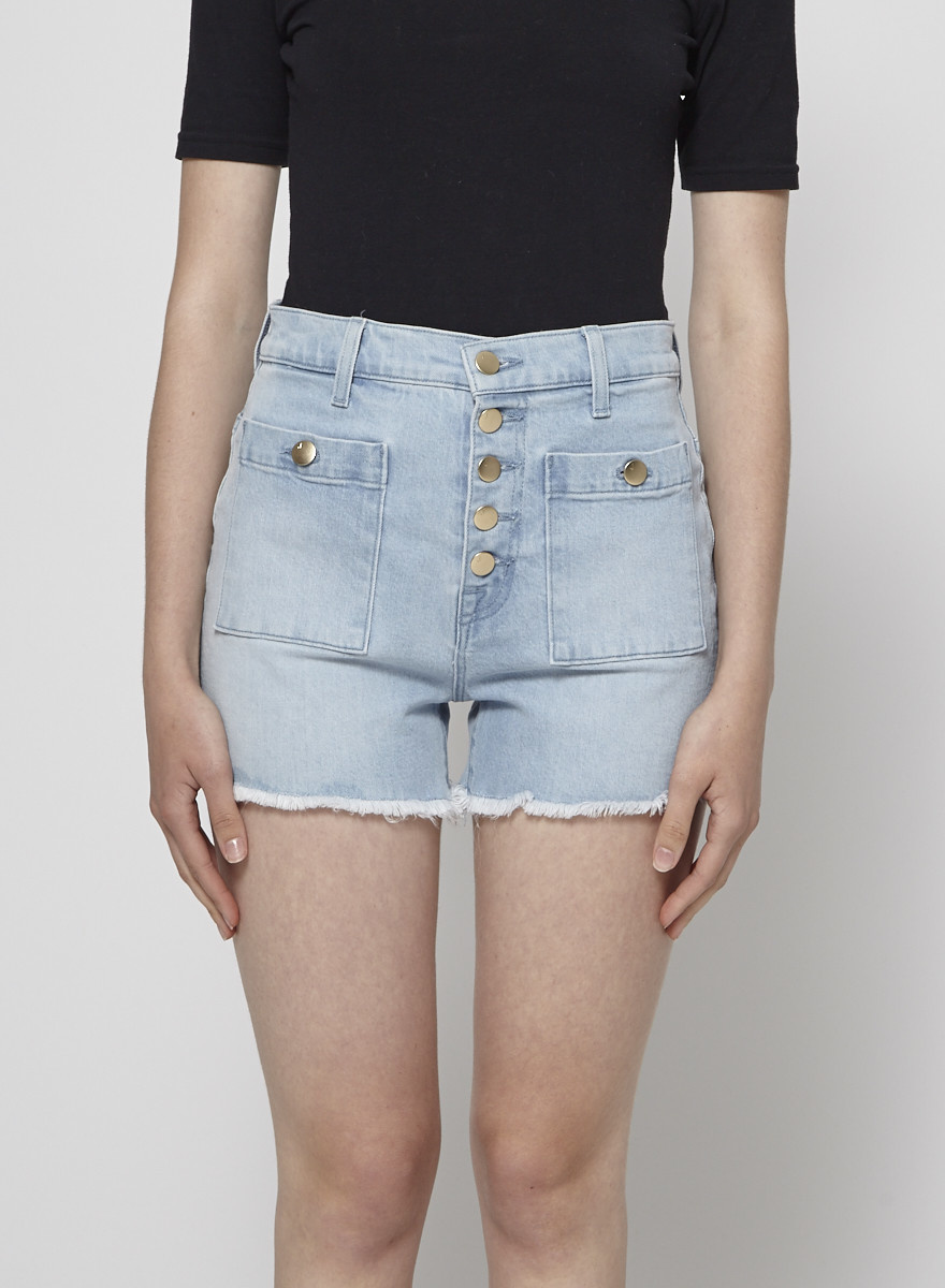 J Brand ON SALE - Joan High-Rise Pocket Short