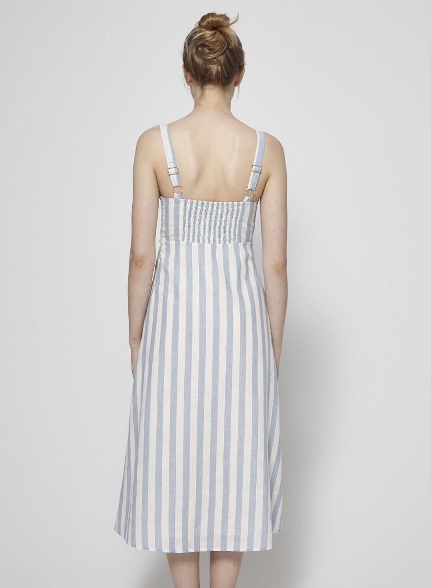 Heartloom Cora Striped Long Dress - New
